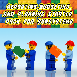 Reporting, budgeting and planning Starter Pack for SunSystems