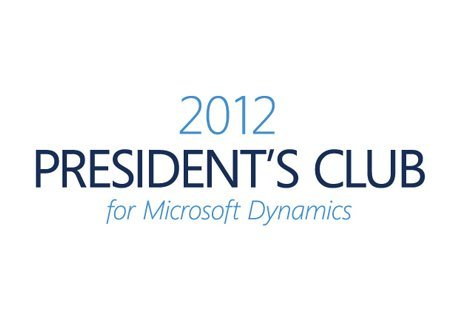 Professional Advantage Named to 2012 President's Club for Microsoft Dynamics
