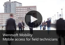 Mobile access for field technicians
