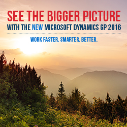 Dynamics GP 2016 Launch (GP users only)