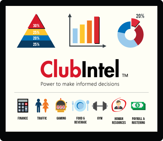 ClubIntel power to make informed decisions