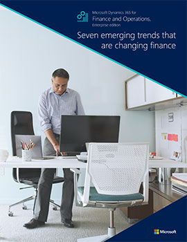 Seven emerging trends that are changing finance