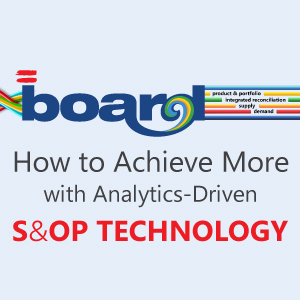How to Achieve More with Analytics-Driven S&OP Technology