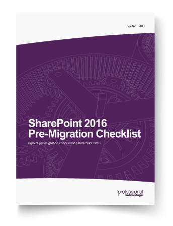 SharePoint 2016 Pre-Migration Checklist