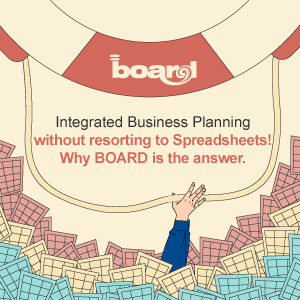 Integrated Business Planning without resorting to Spreadsheets! Why BOARD is the answer