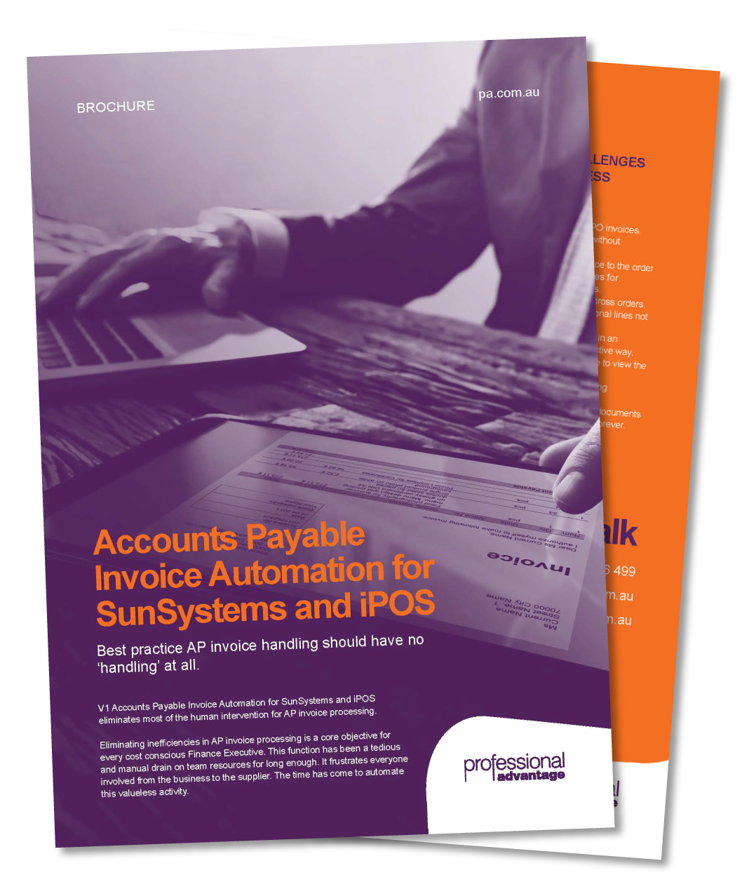 Accounts Payable Invoice Automation for Infor SunSystems