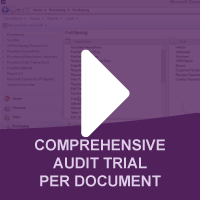 Comprehensive Audit Trail Per Document