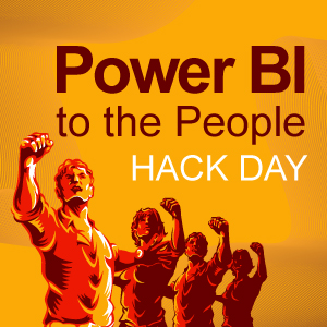 Power BI to the People Hack day