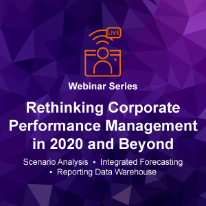 Rethinking Corporate Performance Management in 2020 and Beyond