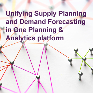 Unifying Supply Planning and Demand Forecasting in One Planning and Analytics platform