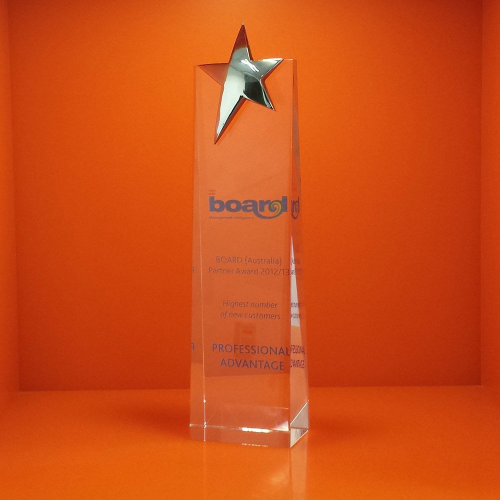 Professional Advantage wins BOARD Australia Partner of the Year Award  for 2014