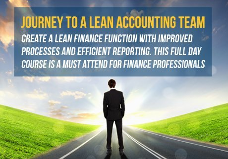 "Join David Parmenter in his one day course ""Journey to a  lean accounting team"""