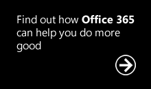 Professional Advantage to help NonProfits do more good with Office 365